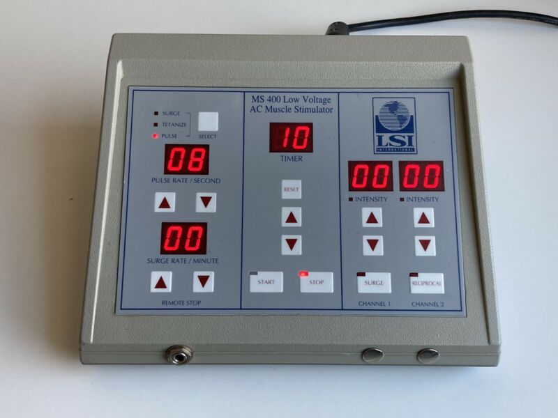 LSI MS 400 Low Voltage AC Muscle Stimulator