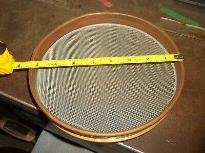 Gilson Us Standard Test Sieve 8 850 Um 0.0331 No. 20 Brass 652