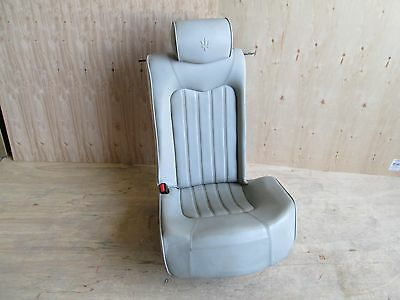 Maserati Quattroporte - LH / Rear Seat w/ Rails / Guides  - Power Grey