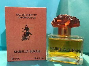 MARIELLA BURANI ORIGINAL Women Perfume 3.4oz 100ML EDT NIB Sealed Box Rare