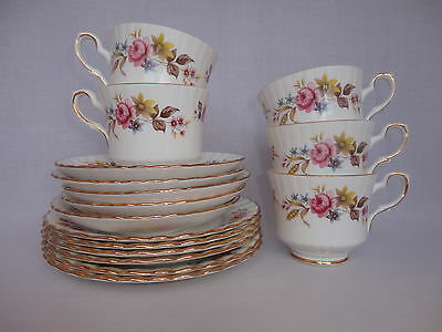 Vintage Royal Stafford Bone China Tea Set