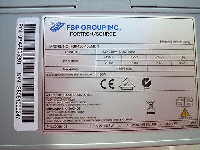 Original  FSP450-40EMDN  ATX Netzteil 14 - polig     Ersatz für FSP350-40EMDN