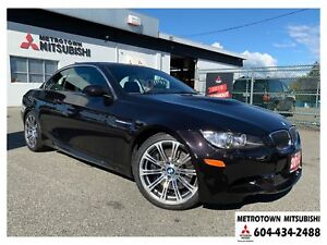 2013 BMW M3 Local BC, 51, 980 kms, ALL NEW TIRES!