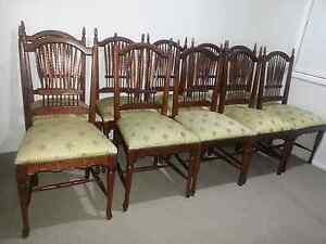 10 dining table chairs Appin Wollondilly Area Preview