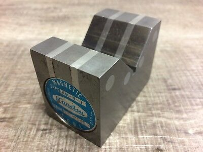 Nice Kanetsu Japan Made Magnetic V Block 2 12 X 1 78 X 1 12