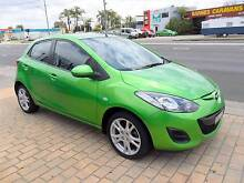 2011 Mazda Mazda2 AUTOMATIC GREEN 5D Hatchback Lansvale Liverpool Area Preview