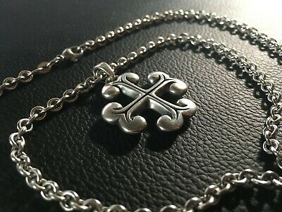Vintage James Avery Sterling Cross with 24