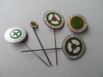 5 x Pins-Bewährter Berufskraftfahrer-Deutsche Verkehrswacht (U637)