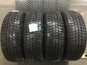 4 tires / 4 pneus P 205 65 R15 Michelin X-ICE