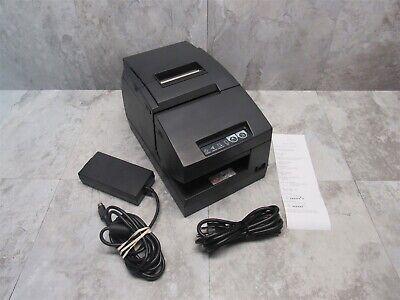 Epson Tm-h6000iii Pos Thermal Receipt Printer M147g W Power Plus Card - Gray
