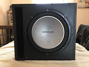 "Kenwood 12"" Sub and 400w Pioneer Amp"
