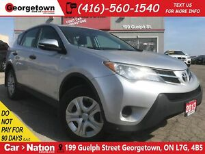 2013 Toyota RAV4 LE | ALL WHEEL DRIVE | ONLY 108, 212KMS | ALLOY
