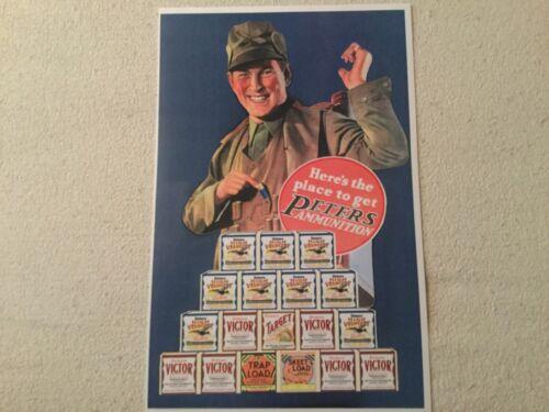 Peters shotgun shell poster