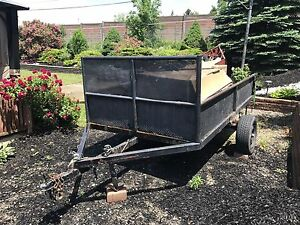 2 ton - 6x10 trailer - solid