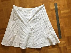 SmartSet white summer skirt