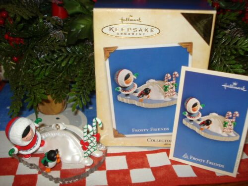 2004 Hallmark *FROSTY FRIENDS* Register to Win Repaint Series Ornament