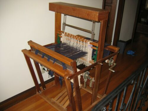 """Vintage 1940 Pinkerton Custom Loom 20"""" Wide Weave 4 Harness Excellent Condition"""