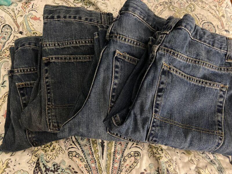 Old Navy Boys Loose Fit Jeans Size 18 Regular-Adj. Waist!