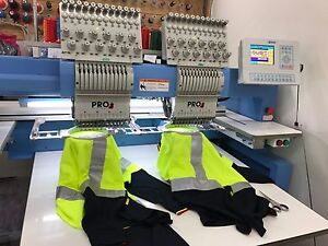 Double head Embroidery Machine Portland Glenelg Area Preview