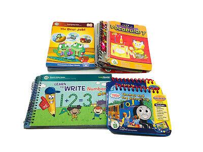 Leap Frog Tag Reader (19) Book Lot Disney Phonics Reading Thomas The Train