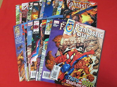 BACKSTOCK BLOW OUT - FANTASTIC FOUR LOT OF 25 ALL DIFFERENT COMICS