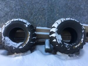 2 paddle tires