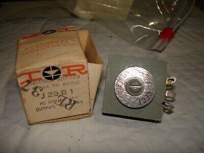 Vintage Ir Selenium Rectifier Single Ph. Bridge J29b1 Nos Bin 465
