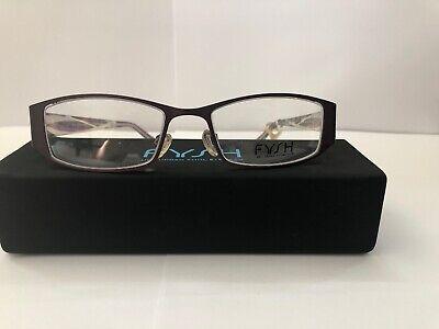 Eyeglasses Klick/ Fysh 3446, Brand New with Tag, Purple Women's (Klick Glasses)