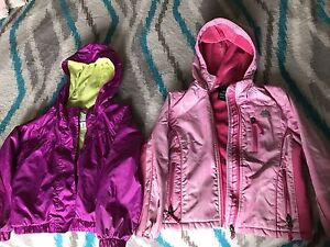 Size 5/6 girls spring/fall jackets