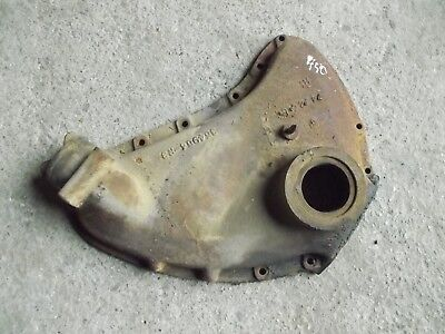 Farmall 450 Tractor Original Ih Motor Engine Front Cover W Oil Top Cap