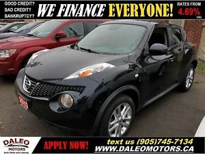2013 Nissan Juke SV| BLUETOOTH| LOW KM'S | CERTIFIED