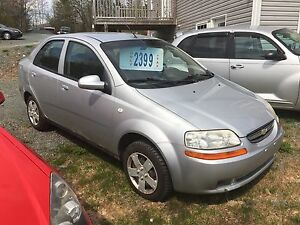 2004 Chevy aveo New two-year MVI