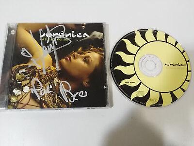 Veronica the Strength Del Sol Operacion Triunfo CD Vale Music Signed Por comprar usado  Enviando para Brazil