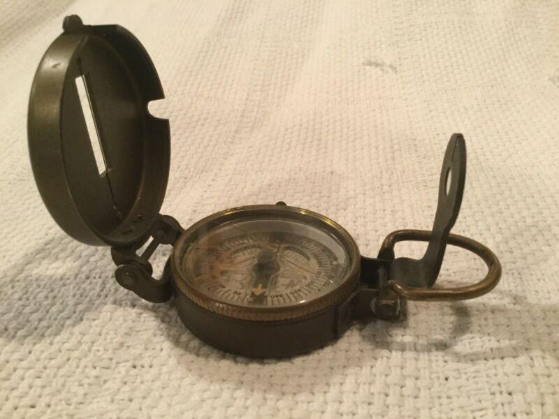 Vintage U.S. 12-50 Manufactured By Marine Compass Co. Pembroke Mass.