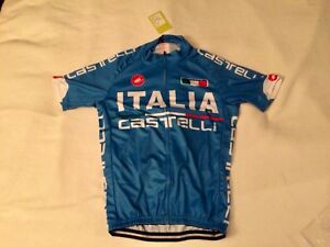 Italia Castelli logo cycling jersey - new with tags