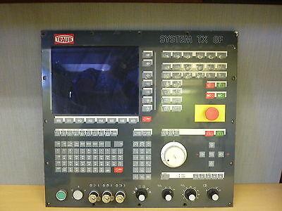 Traub System Tx 8f Rapotronic Txbf-tnd 500 Cnc Lathe Control Panel 14686