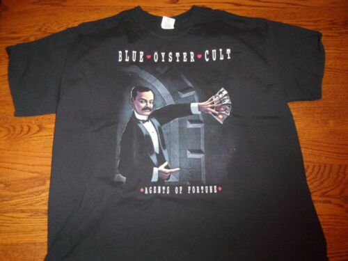 Blue Oyster Cult Agents of Fortune Size XL Concert Tee-Shirt
