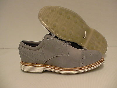Nike lunar clayton golf shoes grey wolf size 9 us new with box