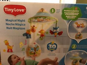 Mobile/projector/toddler lamp