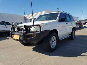 2005 TOYOTA LANDCRUISER PRADO GX MANUAL SUV 8 SEATER Victoria Park Victoria Park Area Preview