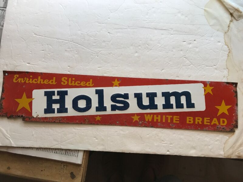 Holsum White Bread Vintage Tin Sign