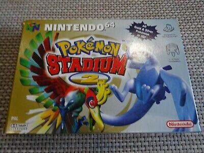 Pokemon Stadium 2 N64 Boxed PAL VGC