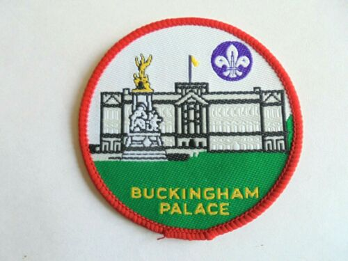 Vintage Buckingham Palace London England Sew On Boy Scout Patch