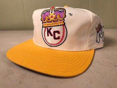 c35047ca097b4b NWT Vintage Kansas City KC Monarchs Negro League Snapback Baseball Hat