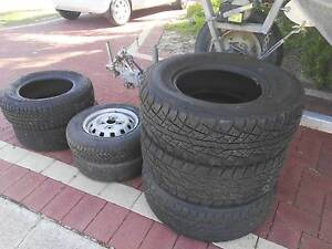 tyres 3 x ,4x4 Kingsley Joondalup Area Preview