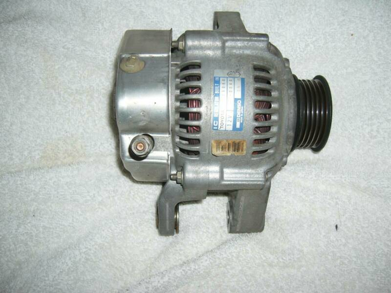 Alternator suit Toyota 7AFE 1 8 RV or 100 and 101 chassis model