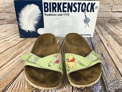 BIRKENSTOCK Disney Winnie the POOH Madrid Slides Sandals Germany Size 35 / US
