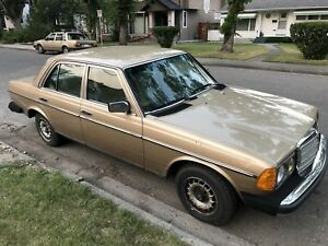 1984 Mercedes 300 diesel turbo