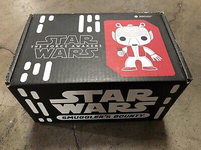 Star Wars Smuggler's Bounty Box Cantina Funko Pop Obi-Wan