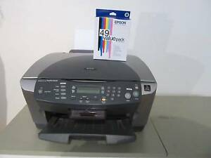 Epson Stylus RX510 Colour Printer and Spare Ink Catridges Clarence Gardens Mitcham Area Preview